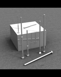 Ejector Pins Processes - Tabulatd Clearances